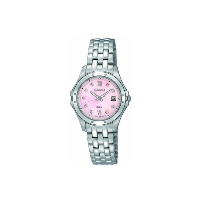 Seiko Stainless Steel Ladies Watch - SXDE21-P9