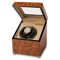 Rapport Walnut Burr Mono Watch Winder