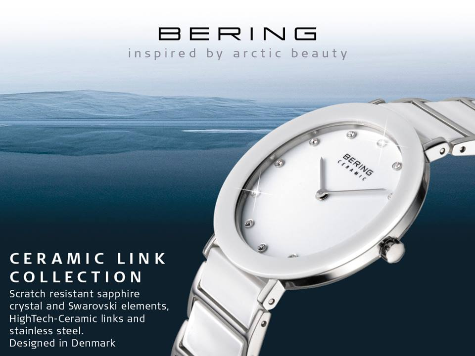 Bering watches official stockists in Edinburgh