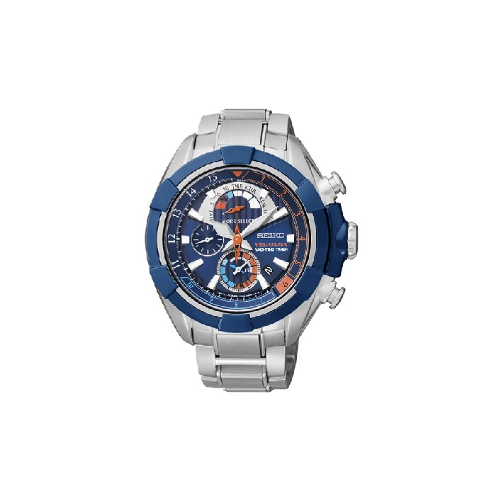 Seiko Gents Stainless Steel Velatura Yachting Watch - SPC143P1