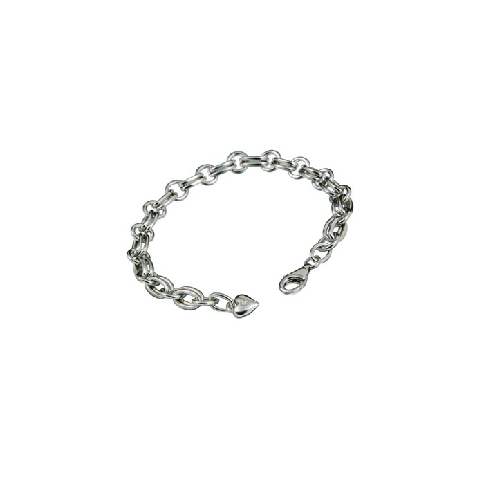 Silver Hot Diamonds Eternal Charm Bracelet - DL071