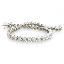 3.09ct Diamond Tennis Bracelet