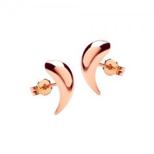 9ct Rose Gold Stud Earrings