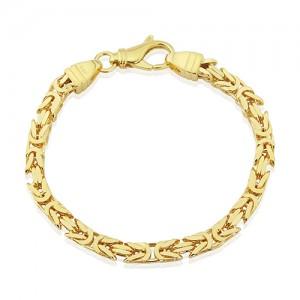 Silver Vermeil  Byzantine Bracelet by Mark Milton - MME0164-7