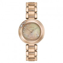 Citizen Rose Tone Eco Drive Watch