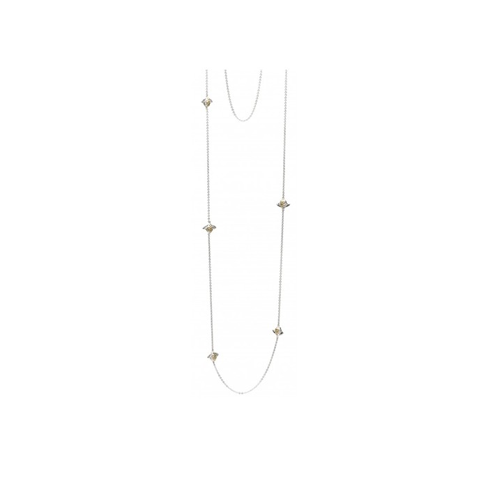 Kit Heath Bumblebee Station Necklace - 90340GD016