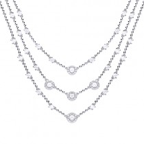 Diamofire Multi Strand Necklace - 63/1035/1/082