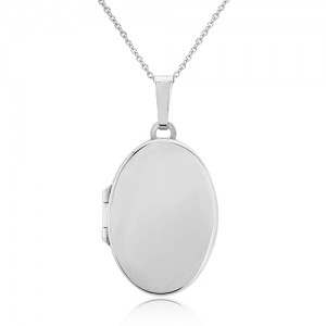 Sterling Silver Double Door Family Locket