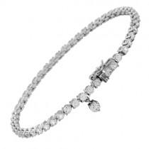 Diamonfire Sterling Silver Cubic Zirconia Bracelet