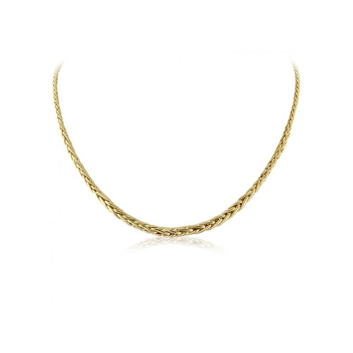 9ct Gold  Palmier Necklace By Mark Milton - MM2V20-16