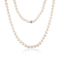 5.5 - 6mm Freshwater Cultured Pearls - 16-inch