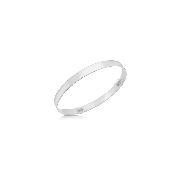 Sterling Silver Adjustable Baby Bangle