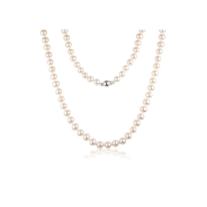 16 Inch String of 5.5 - 6mm Freshwater Cultured Pearls