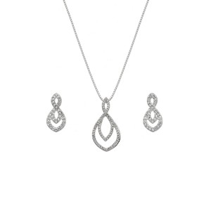 Hot Diamonds Harmony Pendant & Earrings Set - SS138
