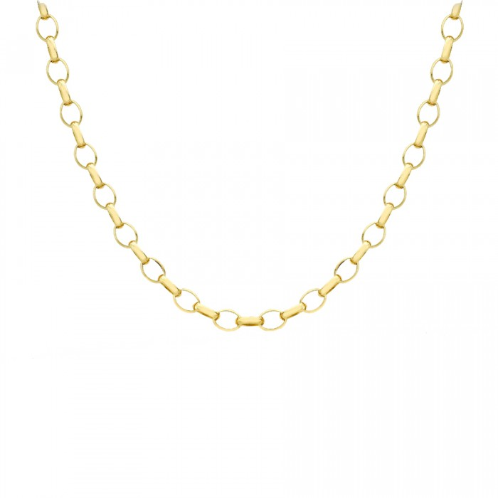 "9ct Gold 18""/46cm Belcher Chain"