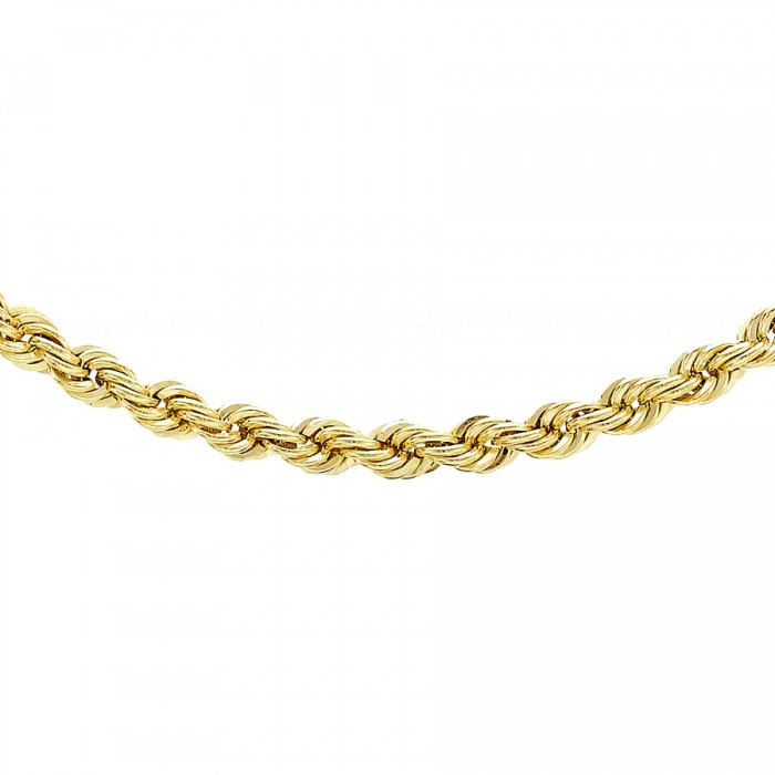 "9ct Yellow Gold 28""Rope Chain"