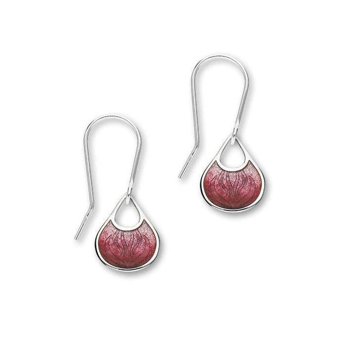 Ortak Elements Enamel Drop Earrings - EE145 Ignite