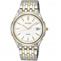 Seiko Two Tone Solar Watch - SNE136P1