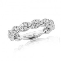 18ct White Gold Fancy Eternity Ring - 0.63cts