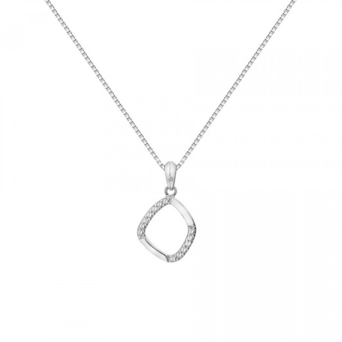 Hot Diamonds Behold White Topaz Pendant - DP782
