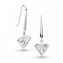Kit Heath Empire Deco Diamond Shape Drop Earrings - 60401