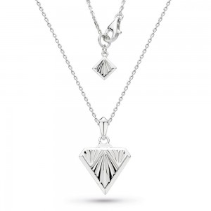"Kit Heath Empire Deco Diamond Shape Necklace 24""- 90401"