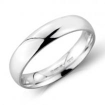 Gents Platinum 4mm Court Wedding Band [Save 40% OFF High Street Prices]