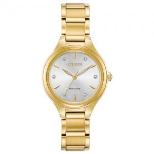 Citizen Eco-Drive Ladies'Silhouette Diamond Watch - FE2102-55A