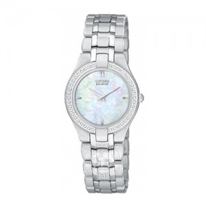 Citizen Ladies Silhouette Stainless Steel Watch - EG3150-51D