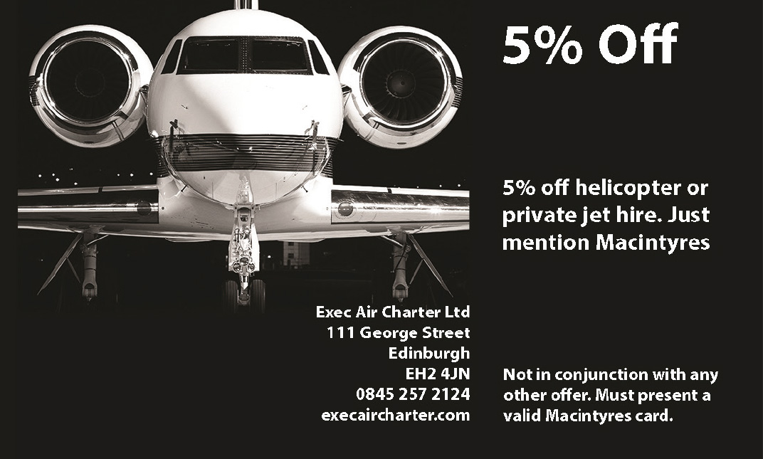 Exec Air Edinburgh