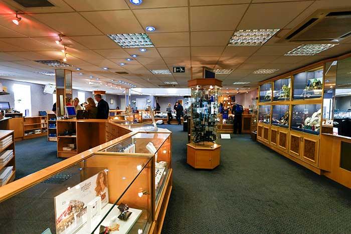 Macintyres of Edinburgh showroom
